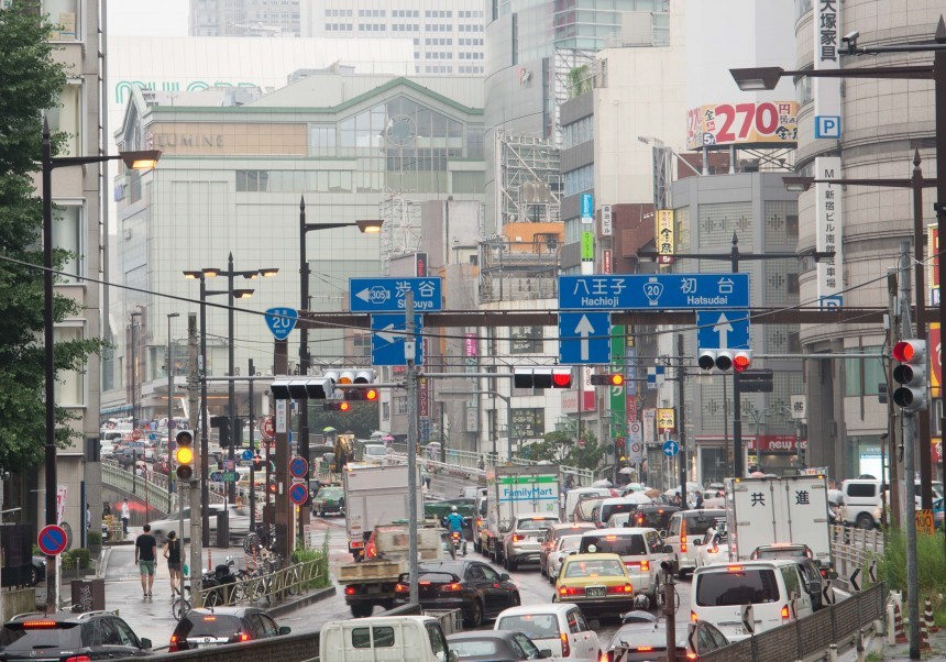 tokyo traffic web