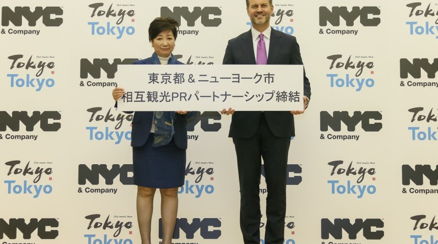 Tokyo Bolsters Tourism with NYC Partnership