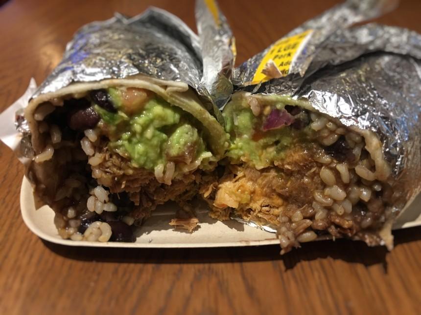 Guzman y Gomez Pulled Pork Best Burritos in Tokyo