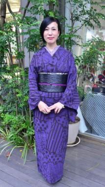 Kumiko Ishioka contemporary kimono