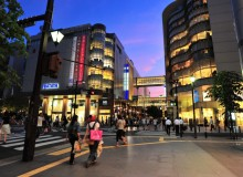 Fukuoka Fashion Kyushu Shopping District Tenjin