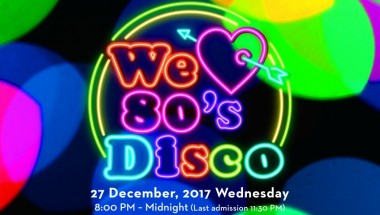 """We Love 80s Disco"" At the Grand Hyatt"