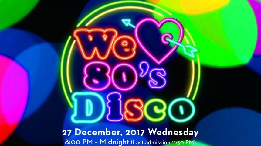 """We Love 80s Disco"" At the Grand Hyatt"