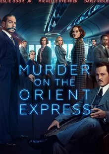 murder on orient express poster