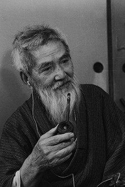Kumagai Morikazu (91years old), 1971 . Photo: Nikkei Inc.