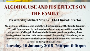 Alcohol Use and its Effects on the Family (Workshop)