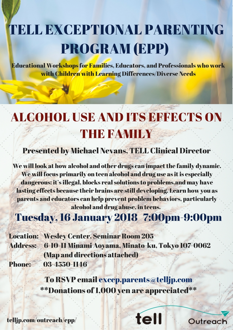 EPP - Alcohol Use and Its Effects on the Family