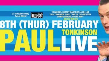 Comedian Paul Tonkinson Live in Tokyo