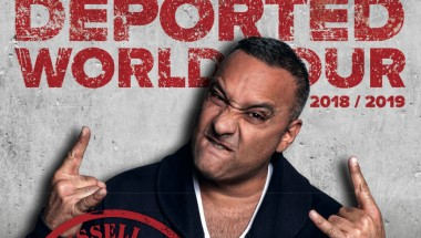 Stand-up Comedian Russell Peters Performing in Tokyo
