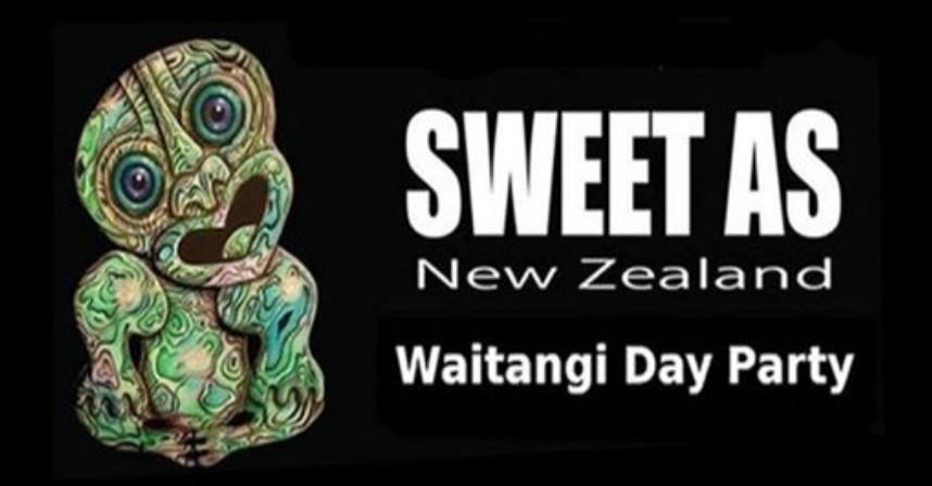 Sweet as New Zealand: Waitangi Day Party