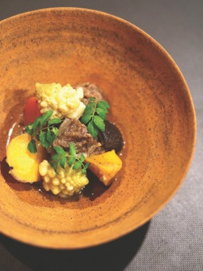 Trunk Kitchen dinner gourmet chef's table local healthy Shibuya