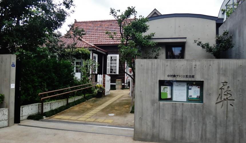 Tsune Nakamura Atelier Museum entrance