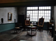 Tsune Nakamura Atelier Museum interior 1