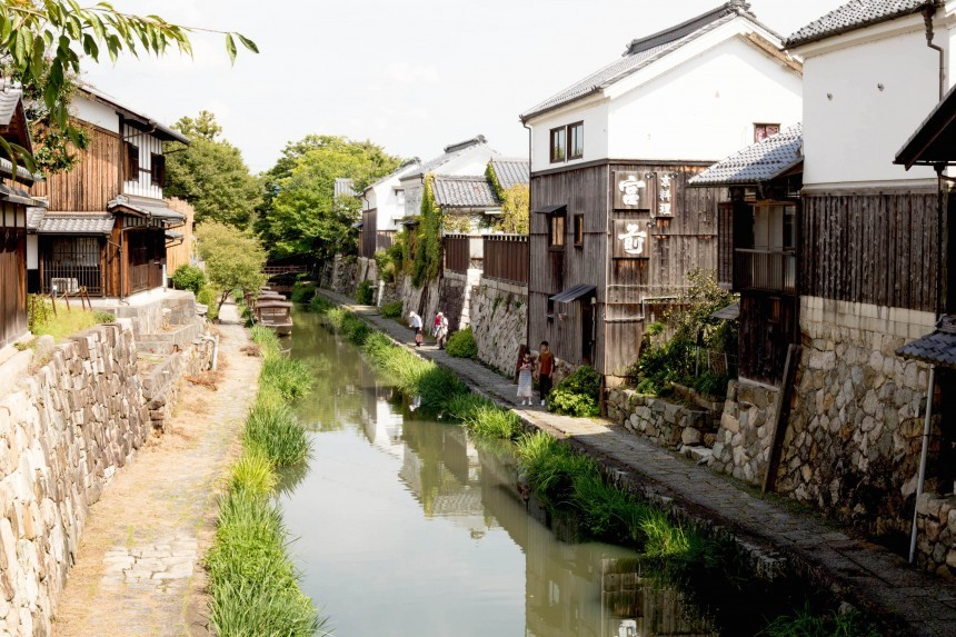 Shiga Prefecture Travel Japan historic canal