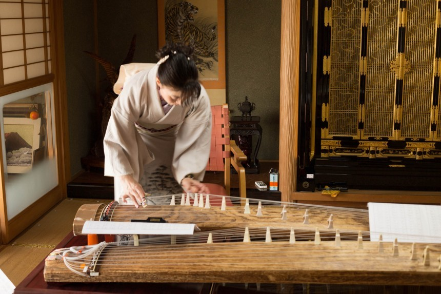 Shiga Prefecture Travel koto traditional Japanese music