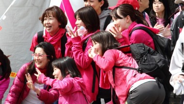 Pink Ribbon Walk – Breast Cancer Awareness 2018 in Odaiba