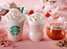 Starbucks sakura latte seasonal drinks special offer