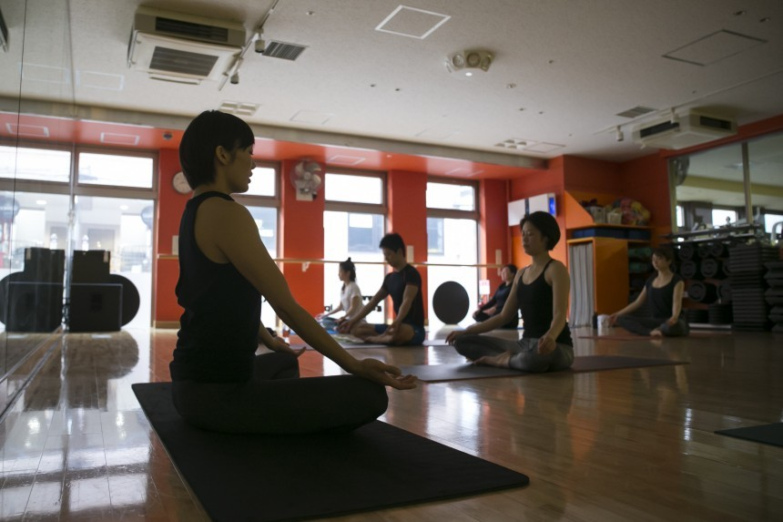 Gold's Gym Free Yoga Excercise Classes Tokyo