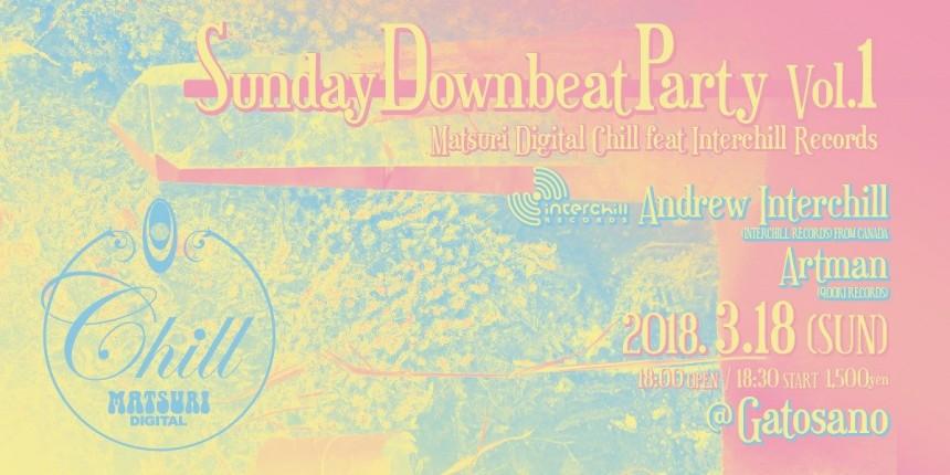 Sunday Downbeat Party Vol.1