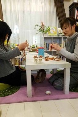 Make a Mini Teddy Bear at a Rabbit Cafe