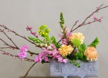 March Community Ikebana