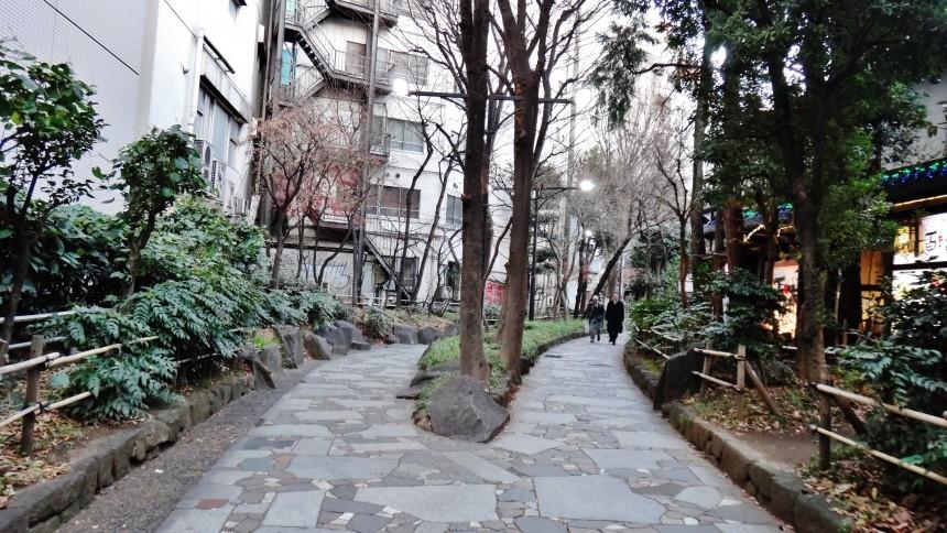 Tokyo High Line Shinjuku Promenade Park Golden Gai
