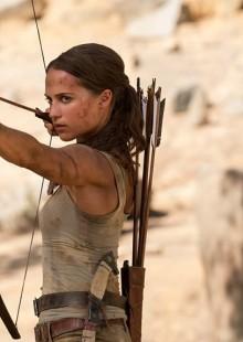 Tomb Raider movie review still Tokyo Japan