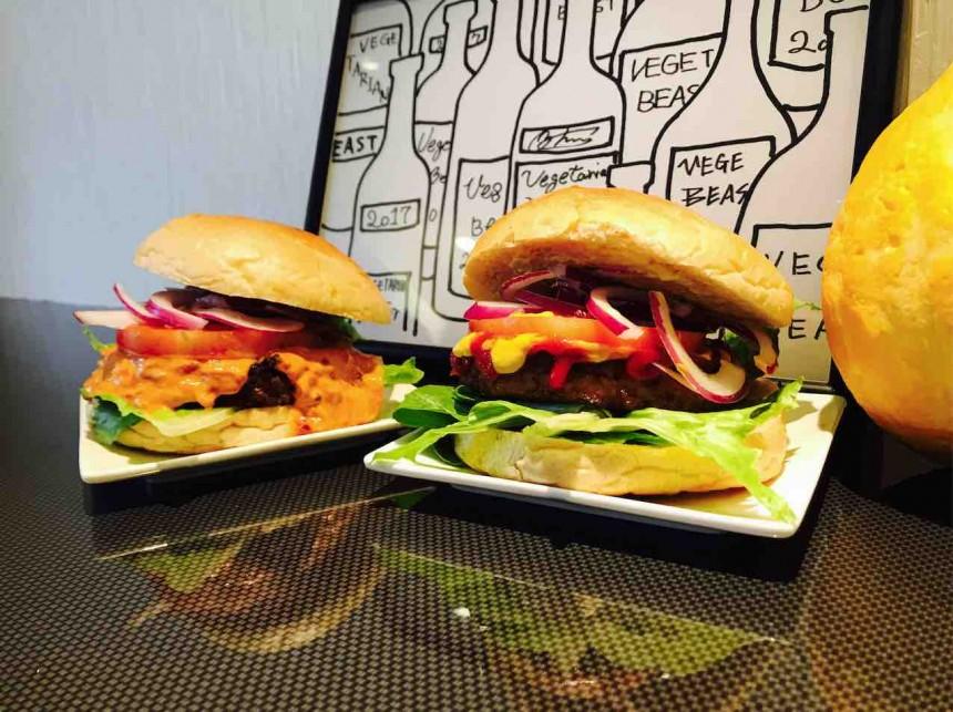 vegetarian beast burger tokyo