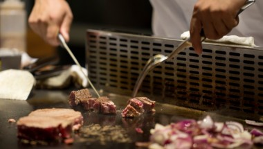 The Imperial's High-End Teppanyaki