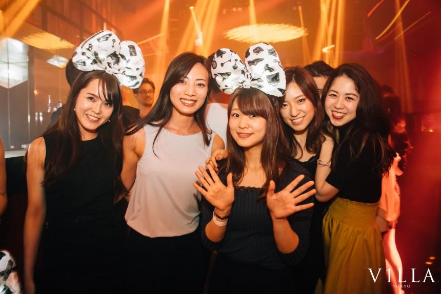 Villa Tokyo Roppongi Nightlife Feria Tokyo Clubbing Vabel Club