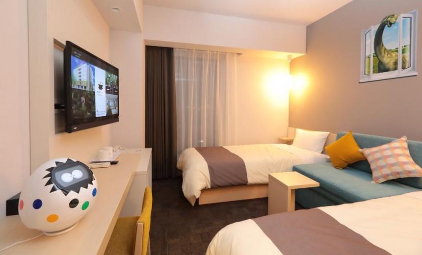 Henn na Hotel room