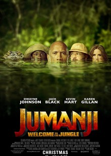 Jumanji Movie poster review Tokyo welcome to the jungle