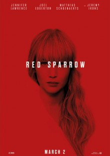 Red Sparrow movie poster Japan Jennifer Lawrence