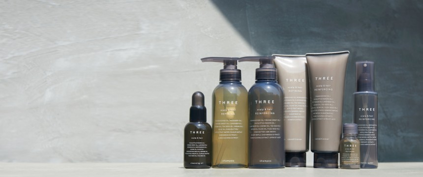 Three Aoyama cosmetics April lifestyle beauty Tokyo soap lotions