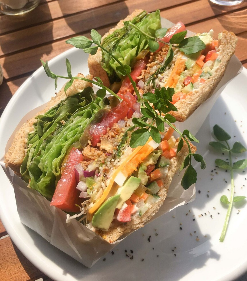 and sandwich (vegetable)