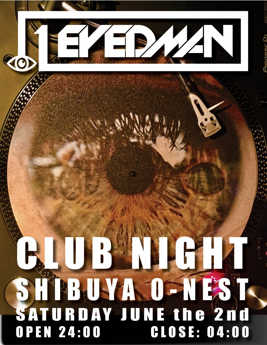 1eyedman clubbing night shibuya pop rock