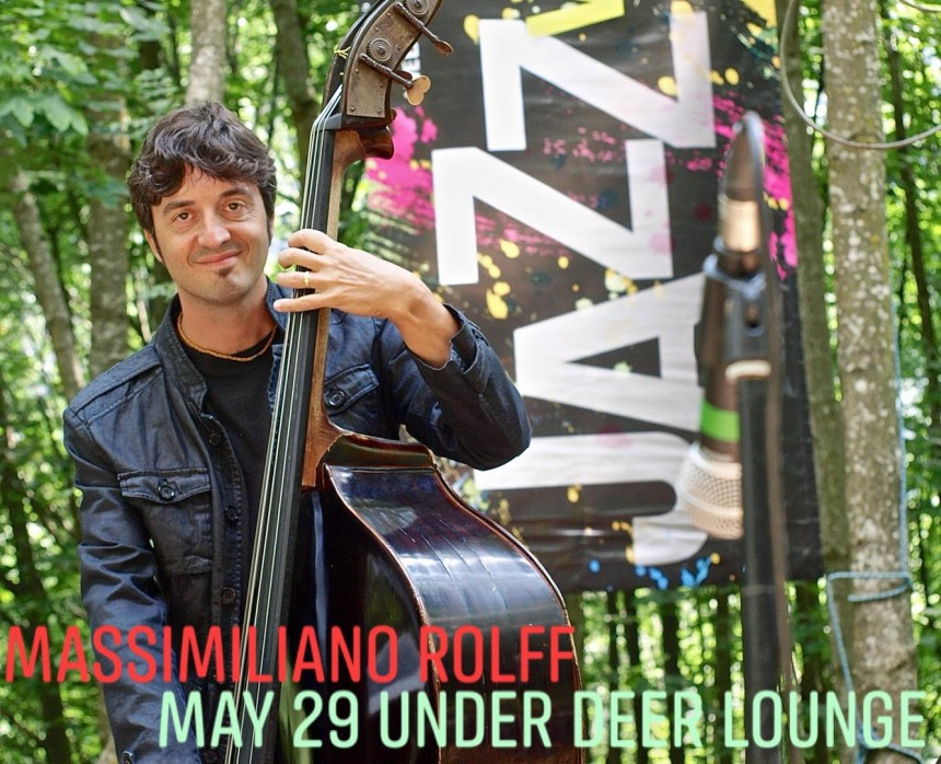 Massimiliano Rolff Tokyo Spring Live Concert Double Bass