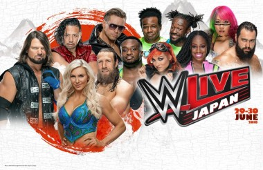 wwe live Japan World Wrestling Entertainment sports combat