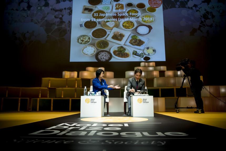 Chiaki Mukai Nobel Prize Future Space Food Astronaut Diet Mars