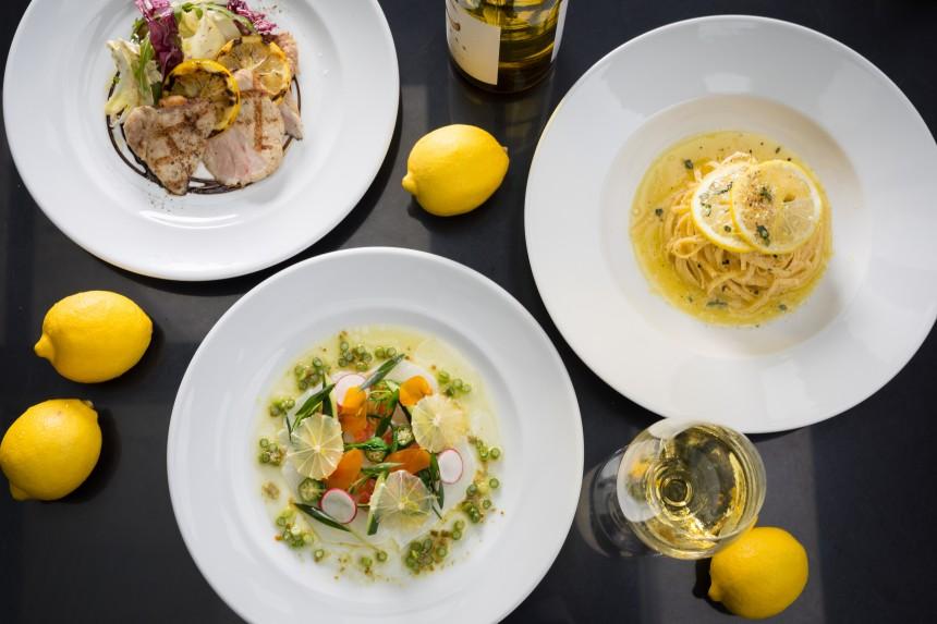 Grand Hyatt Tokyo Summer Lemon Dinner Fiorentina