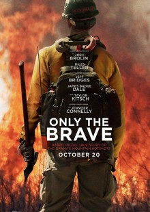 Only Brave movie poster firefighters jennifer connely biography