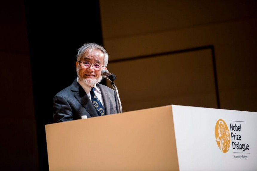 Yoshinori Ohsumi Nobel Prize Physiology Future Food Autogphagy Diet