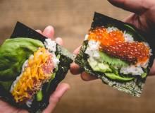 Gonpachi Nori-Temaki Hand Roll Sushi Harajuku Tokyo Restaurant