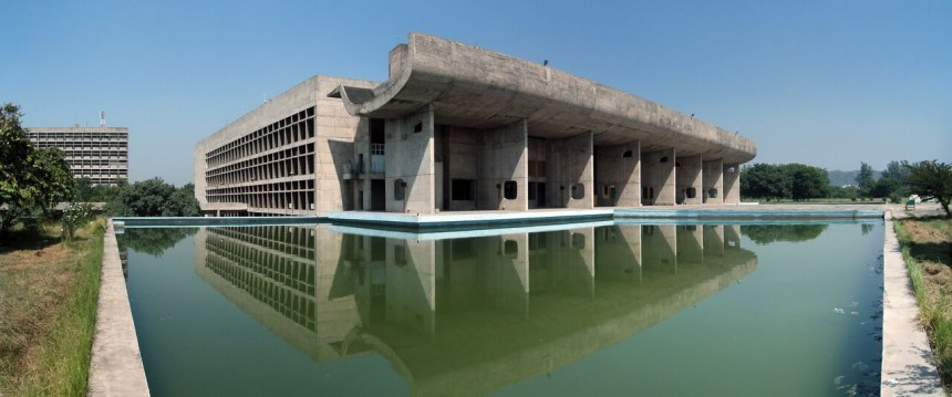 Le Corbusier Chandigarh Exhibition