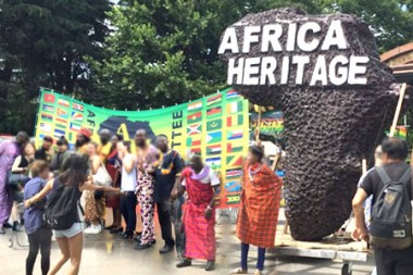 african heritage parade hibiya festival