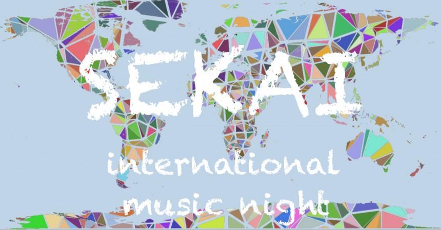 Sekai International Music Night DJ Party Club