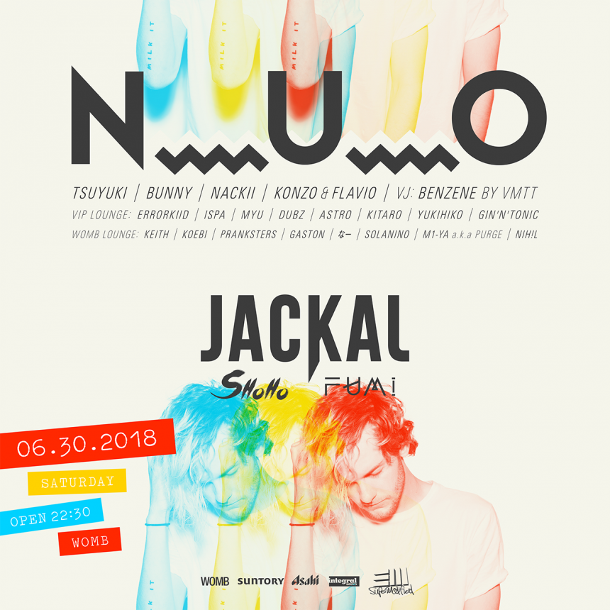 N_U_O JACKAL Clubbing Music Dancing Trap Hip Hop Bass Music