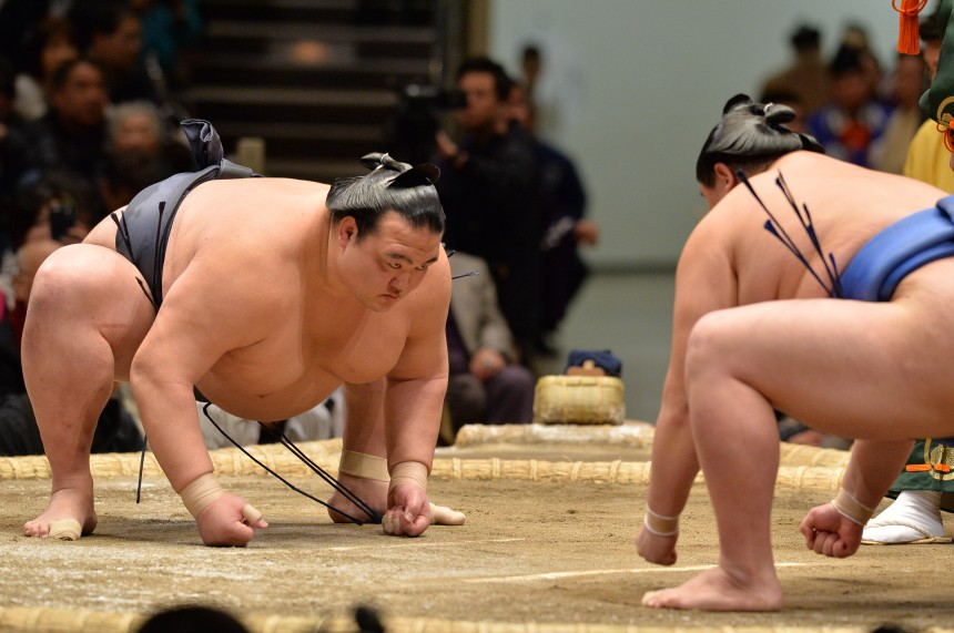 sumo on tour jungyo exhibition west tokyo