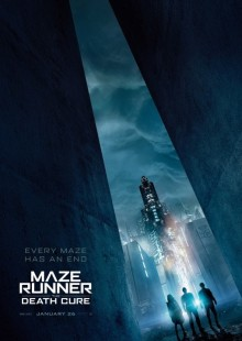 Maze Runner Death Cure Movie Review Poster Action Dystopian