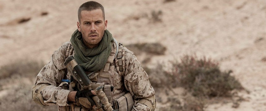 Mine Movie Poster Review Armie Hammer Military Action Tokyo